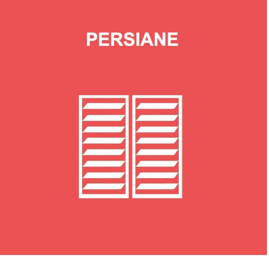 Persiane icona prodotti